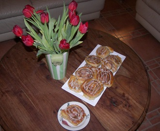 cinnamon rolls STEP BY STEP or rollitos de canela PASO A PASO