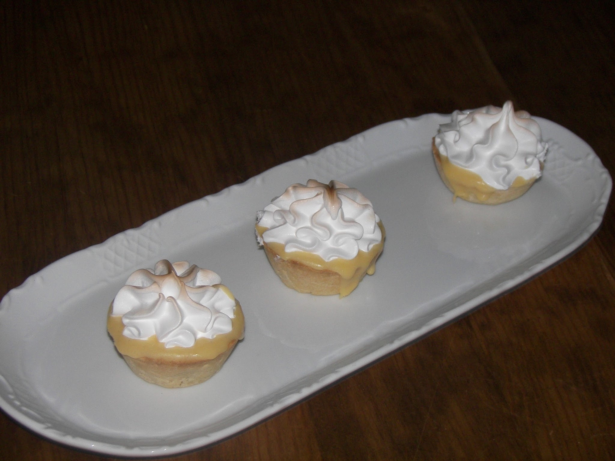 MINI TARTAS DE LIMÓN Ó LEMON PIE