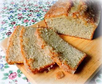 Almond Glazed Poppy Seed Bread