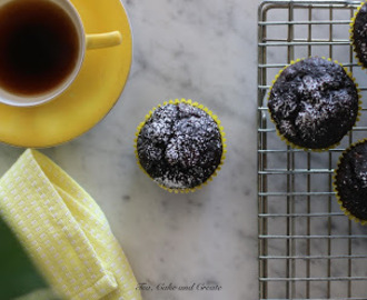 Dark Chocolate Banana Muffins