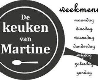 Weekmenu Grip op Koolhydraten 5 - Vegetarisch