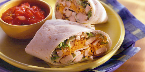 Mexicaanse Kip Wrap