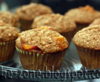 Banana Apple Muffins with Oats