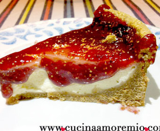 Cheesecake light ai fichi