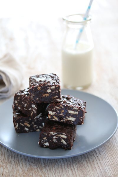 bitsofcarey commented on the post, Fudgy Chocolate & Marie Biscuit Squares, on the site Bits of Carey