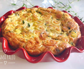 Quiche Sem Base - LowCarb
