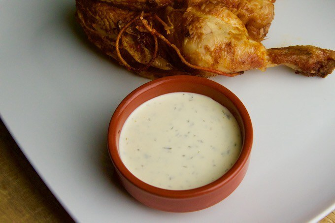 Recept Ranch saus