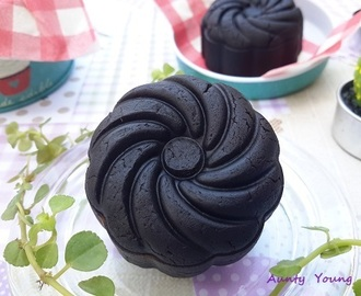 巧克力烤皮月饼 (Chocolate Pastry Moon cake)