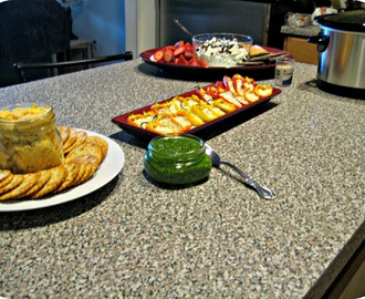 Family Game Night: An Excuse to Serve Appetizers