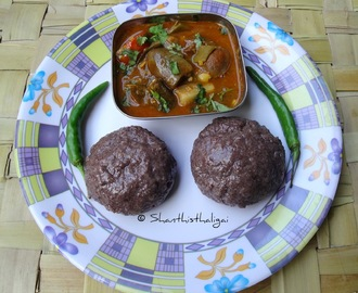RAGI MUDDE RECIPE / RAGI KALI RECIPE / FINGER MILLET BALLS RECIPE / EASY RAGI MUDDE RECIPE