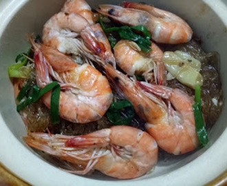 Thai Food Experiment - Shrimp Vermicelli