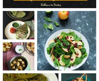 40 + Spinach Recipes / Paalak Recipes