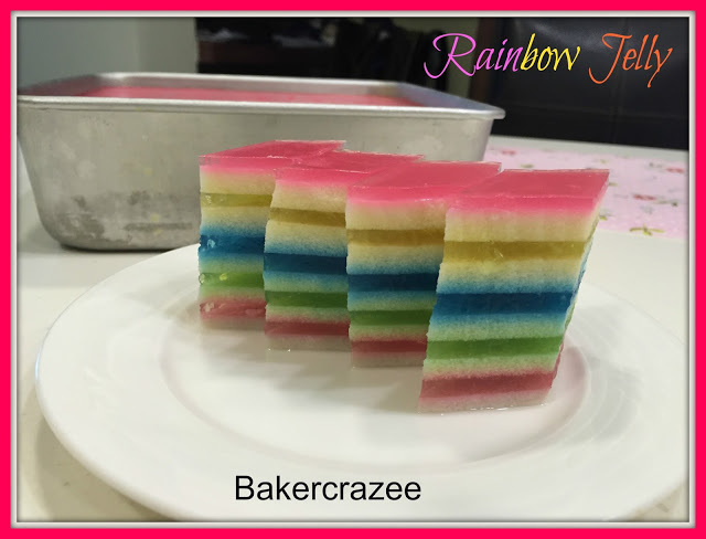 Rainbow Jelly 彩虹椰香燕菜