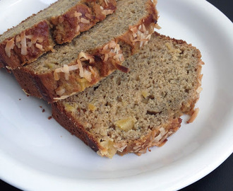 Coconut Pineapple Banana Bread | Easy Baking | Banana Breads