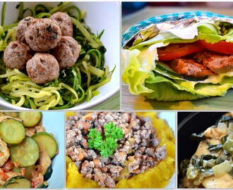 5 Fabulous diet meals in under 30 minutes!