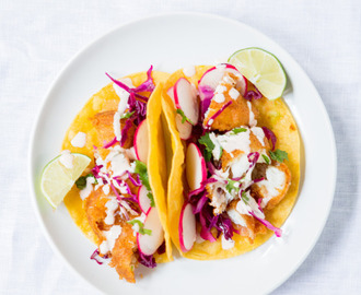 Baja-ish Fish Tacos Know how on Friday we said that tacos are...