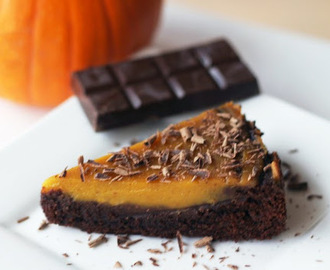 Pumpkin Pie Brownie
