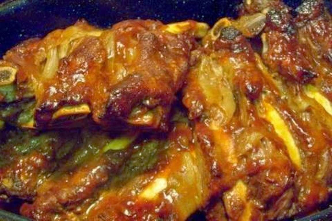 Easy Oven Baked Tender Beef BBQ Ribs #VideoRecipes