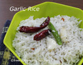Garlic Rice Recipe -- How to make Garlic Rice -- Easy Garlic Rice