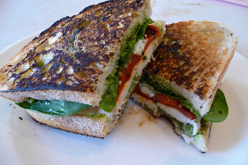 Grilled Chicken Panini Sandwich #SandwichRecipesWorldwide