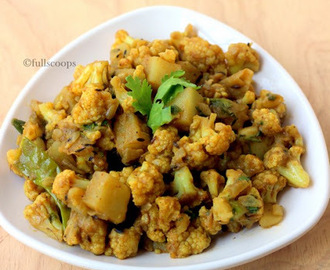 Aloo Gobi Dry Curry