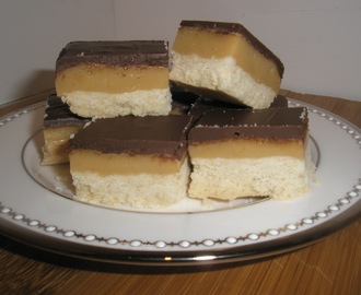 Salted Caramel Chocolate Shortbread- Millionaire's Shortbread