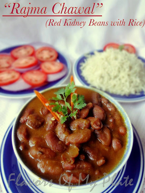 Rajma Chawal (Red Kidney Beans with Rice)