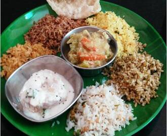 Aadi Perukku Variety Rice Recipes