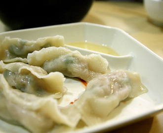 Steamed Pork and Green Onions Dumplings  #DumplingsWorldwide