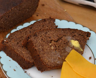 Grain and sugar free banana bread (LCHF/Banting friendly)