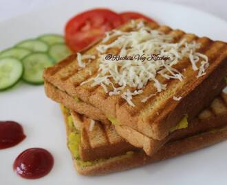VEGETABLE GRILLED SANDWICH / MASALA TOAST