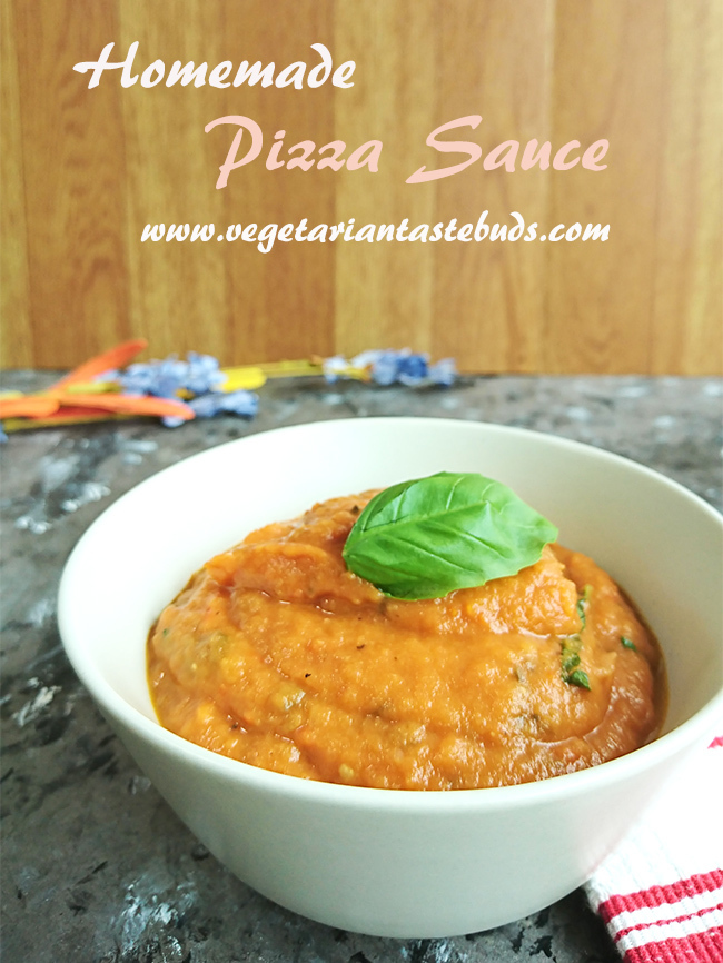 Homemade Pizza Sauce Recipe | Quick and Easy Pizza Sauce Recipe