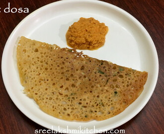 Wheat dosa recipe | godhuma dosa |quick wheat flour dosa | Sreelakshmikitchen