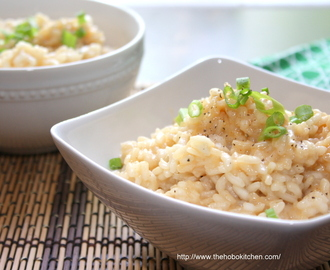 Beer & Cheddar Risotto