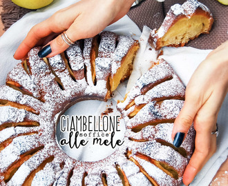 Ciambellone soffice alle mele | Soft apple Bundt cake