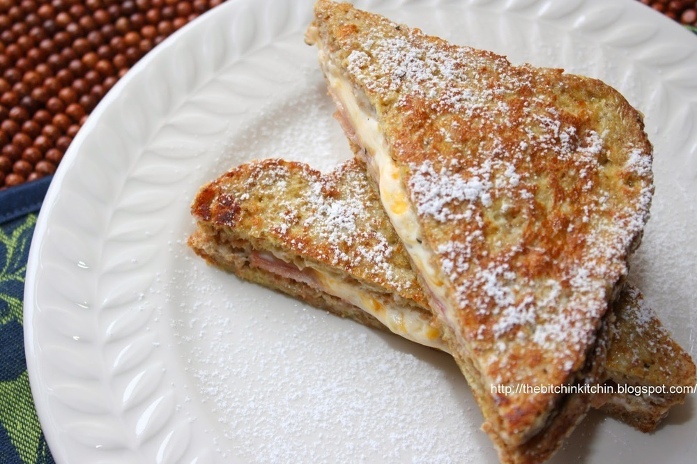 Stuffed Savory Prosciutto & Cheese French Toast
