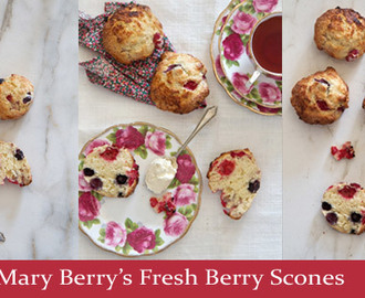 Mary Berry's Fresh Berry Buttermilk Scones