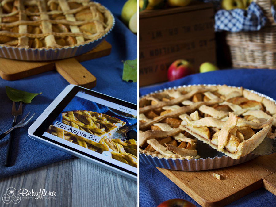 {Apfel - Saison} Hot Apple Pie nach Sweet Paul