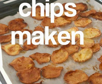Chips maken in de oven