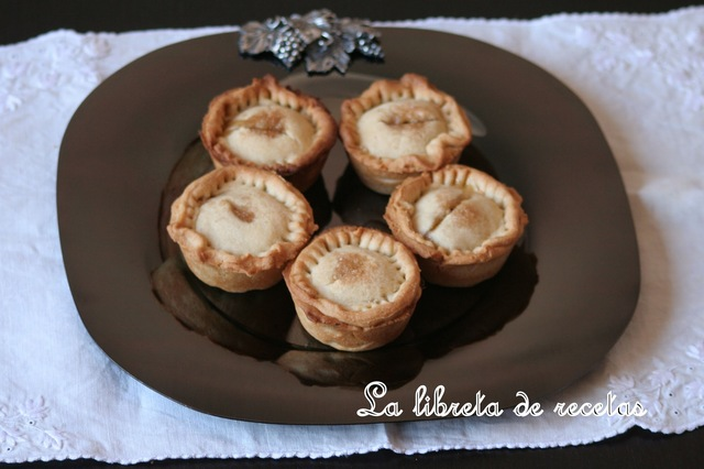 MINI PASTELES DE MANZANA INGLESES (APPLE PIES)