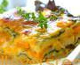 EASY BUTTERNUT & SPINACH LASAGNE