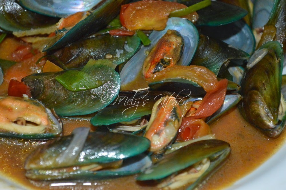 Mussels with Oyster Sauce