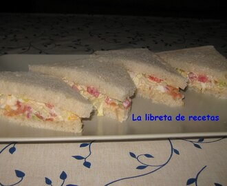 SANDWICHES INGLESES