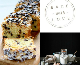 Plumcake con gocce di cioccolato / Chocolate chips plumcake recipe