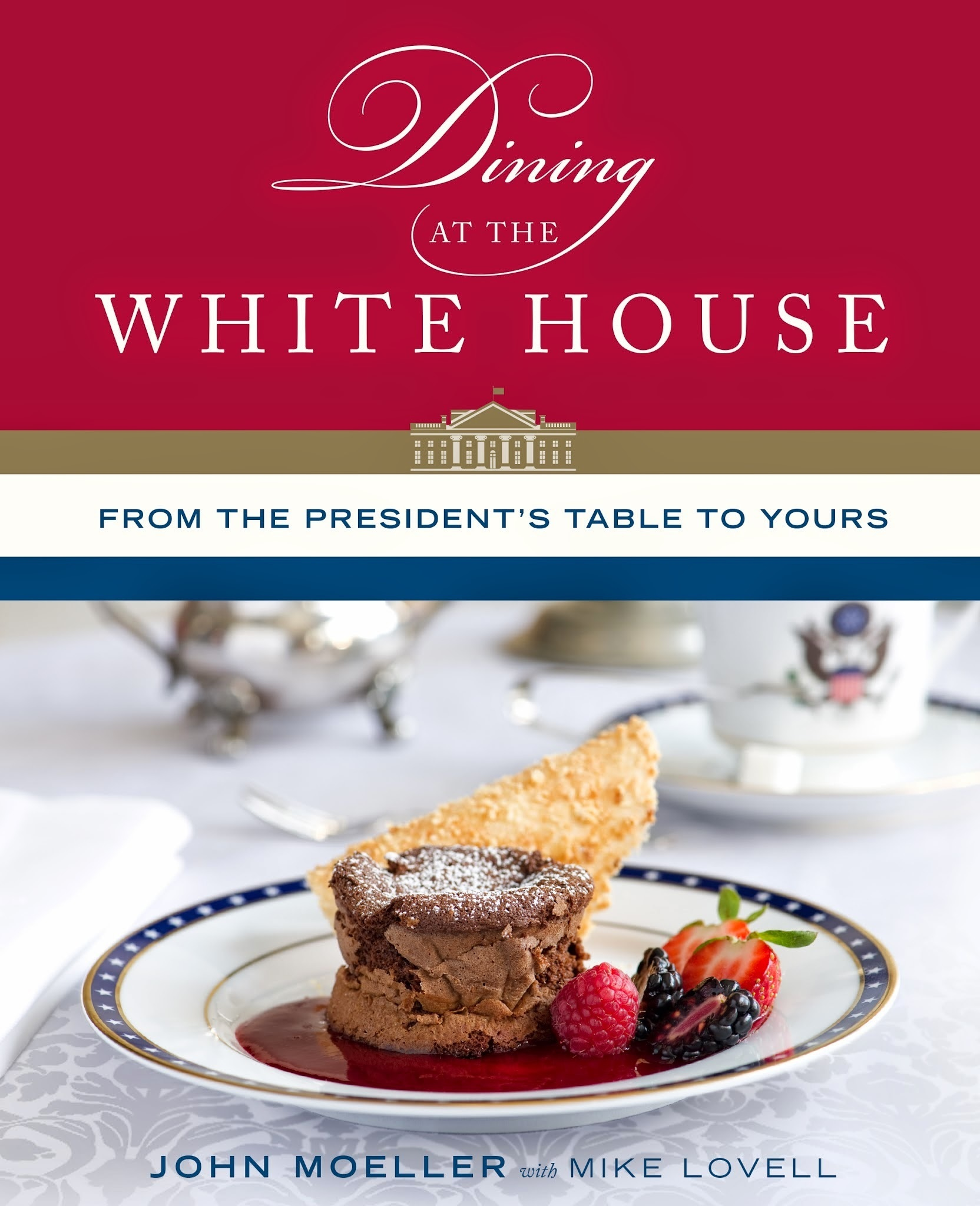 Interview with White House Chef John Moeller featuring Dining at the White House