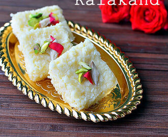 Easy Kalakand Recipe With Condensed Milk/ Milk Maid