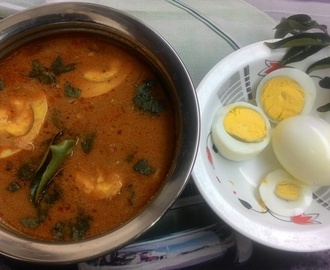 egg gravy recipe- how to prepare egg gravy recipe, egg masala recipe