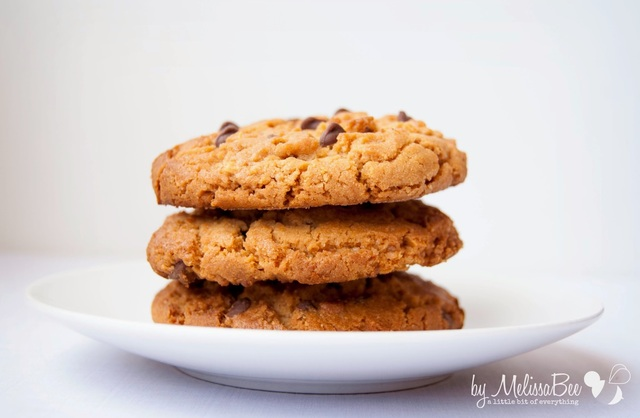 Peanut-Butter-Choc-Chip Cookies
