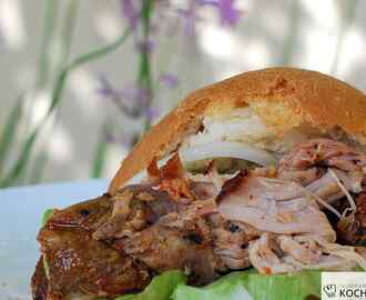 Lexington Pulled Pork aus dem Ofen