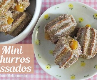 Mini Churros Assados